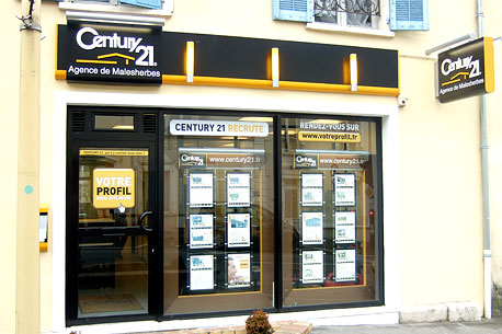 Agence immobilière CENTURY 21 Agence de Malesherbes, 45330 LE MALESHERBOIS